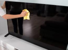 چگونه صفحه تلویزیونهای LCD جیپلاس را تمیز کنیم
